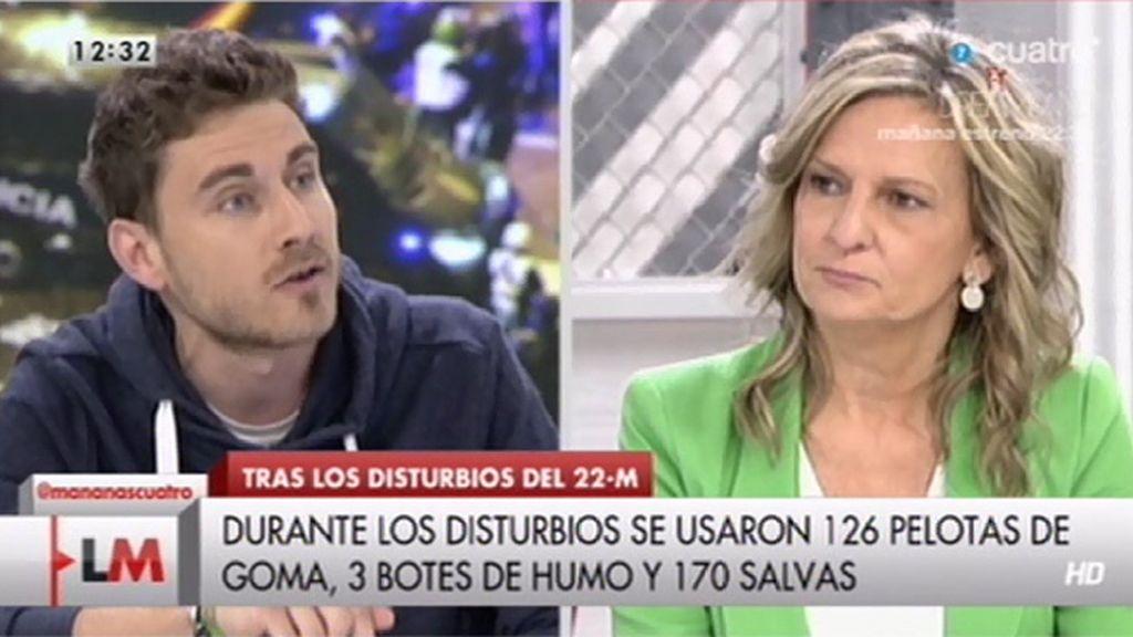 """Carlos Martínez: """"Querían convertirla en una manifestación de violencia para los medios"""""""