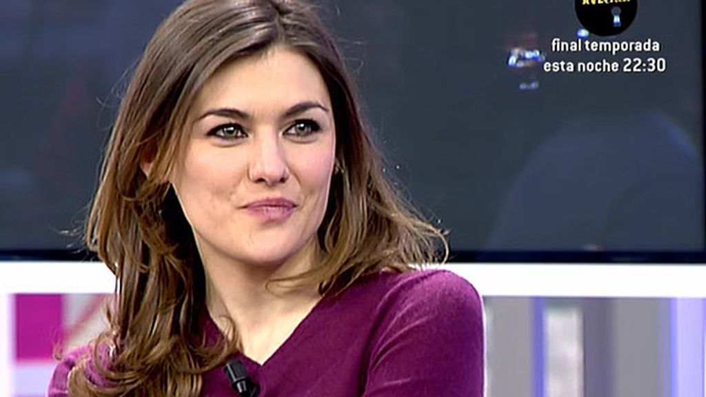 """Marta Nieto: """"Los personajes de 'Ciega a citas' son muy reales, tienen cosas buenas y malas"""""""