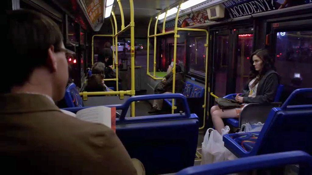 ¿Un acosador en el autobús?