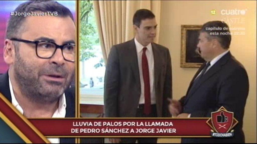 """Jorge Javier: """"A mí me gusta Pedro Sánchez"""""""