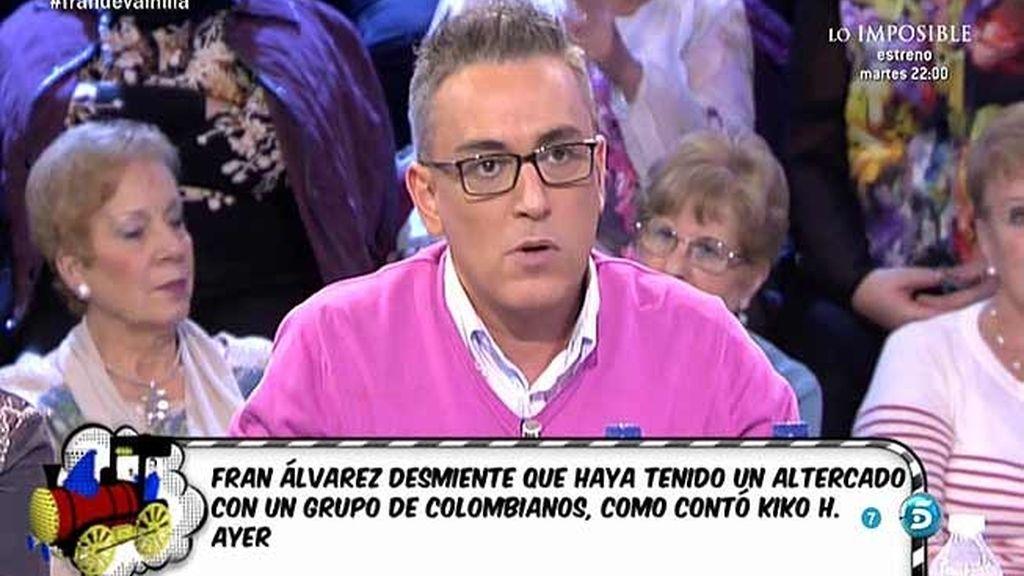"""Kiko Hernández: """"Fran está convencido de que Belén va a volver con él"""""""