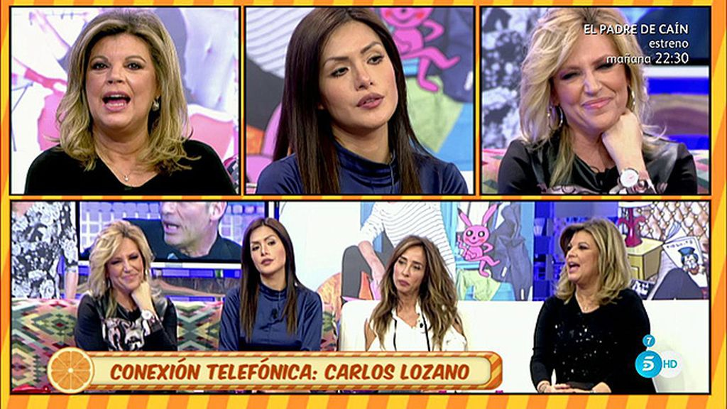 """Carlos Lozano pide perdón a Lydia: """"Charly tiene razón, gastaré bromas con mi madre"""""""
