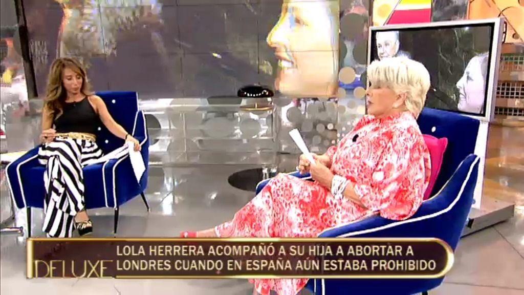 """Lola Herrera: """"No hago campañas políticas porque ningún político hace propaganda mía"""""""