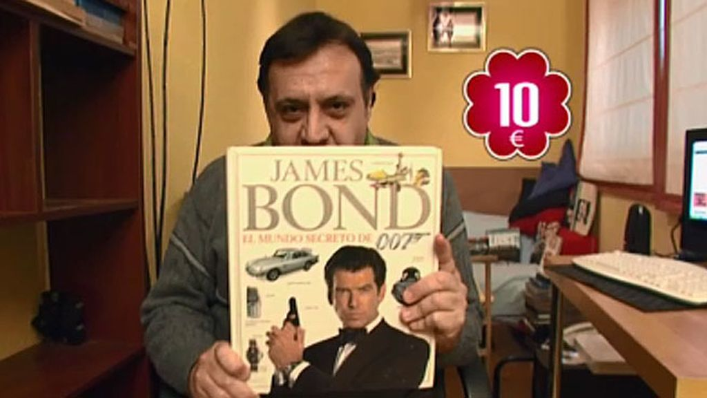 Vendo: libro de James Bond por 10 euros