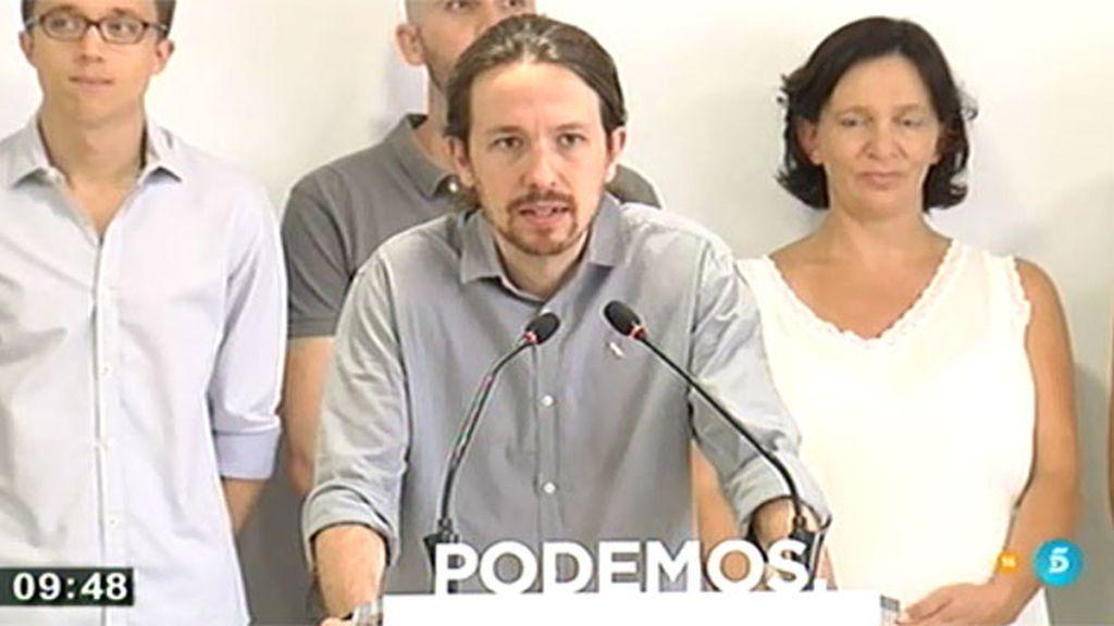 """Iglesias: """"Nuestras primarias van a ser las más participadas y democráticas"""""""