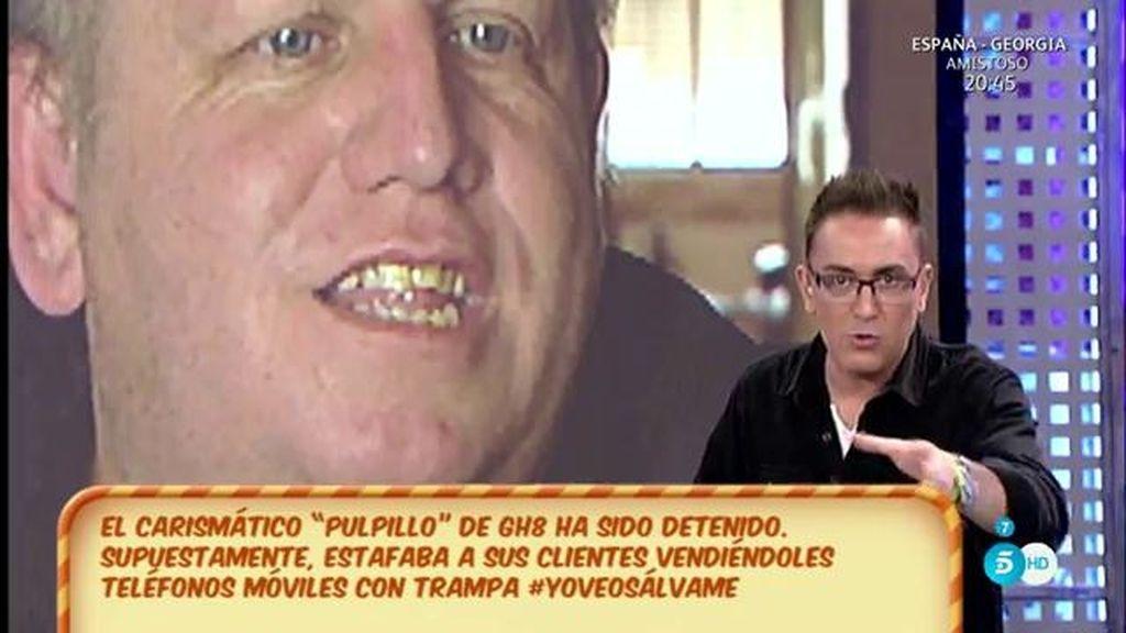 """Kiko Hernández: """"Miguel Ángel 'Pulpillo' de GH 8 ha sido detenido"""""""