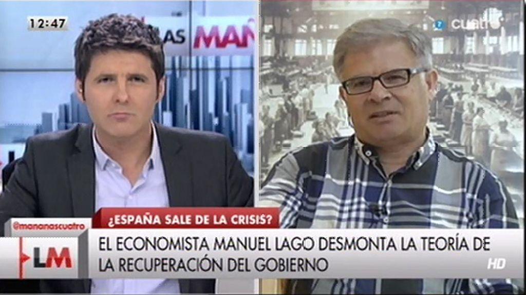 """M. Lago: """"Desde que Fátima Báñez es ministra se han destruido 1.300.000 empleos"""""""