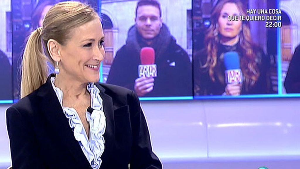 Cristina Cifuentes celebra sus dos años como delegada del gobierno en 'AR'