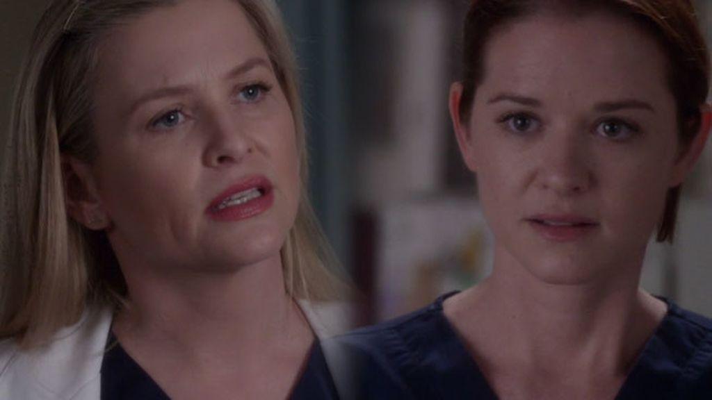 Arizona, preocupada por la salud de April durante el embarazo