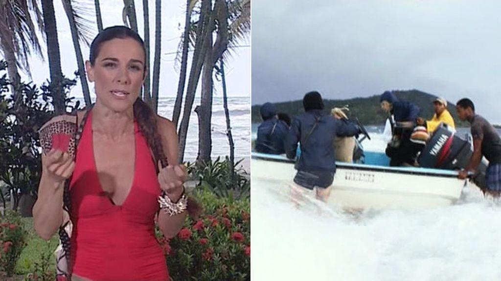 """Raquel Sánchez Silva: """"Pensábamos que Cayo Paloma sería devorada por las olas"""""""