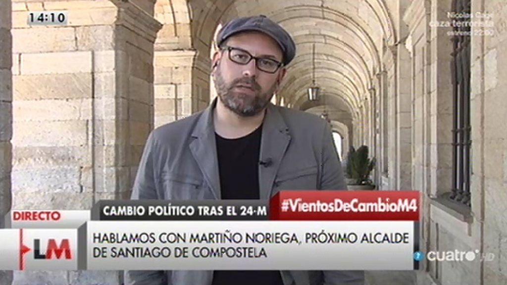 """Martiño Noriega: """"Da la sensación de que los poderes fácticos se niegan a ver la evidencia de que hay un cambio político en marcha"""""""