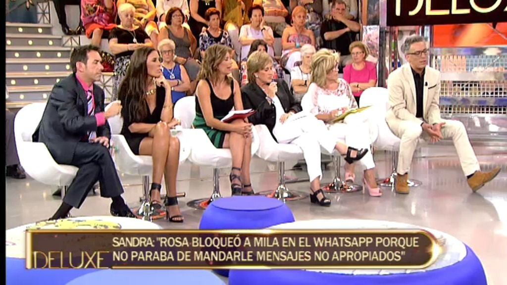 """Sandra: """"Rosa Benito no entiende los ataques de sus compañeros hacia ella"""""""