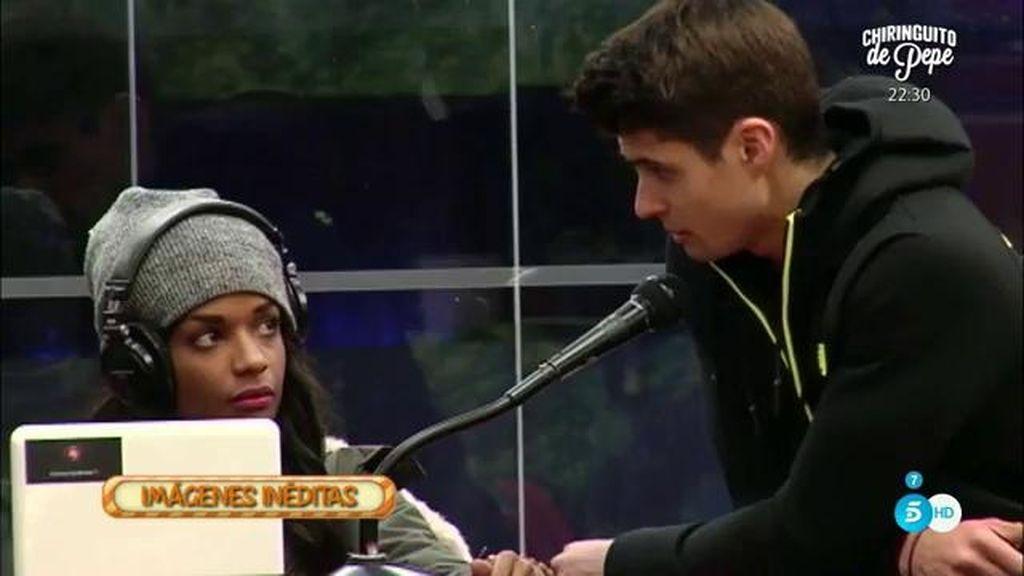"""Javier Tudela: """"Quien quiero que llegue conmigo de la mano a la final es Laura"""""""