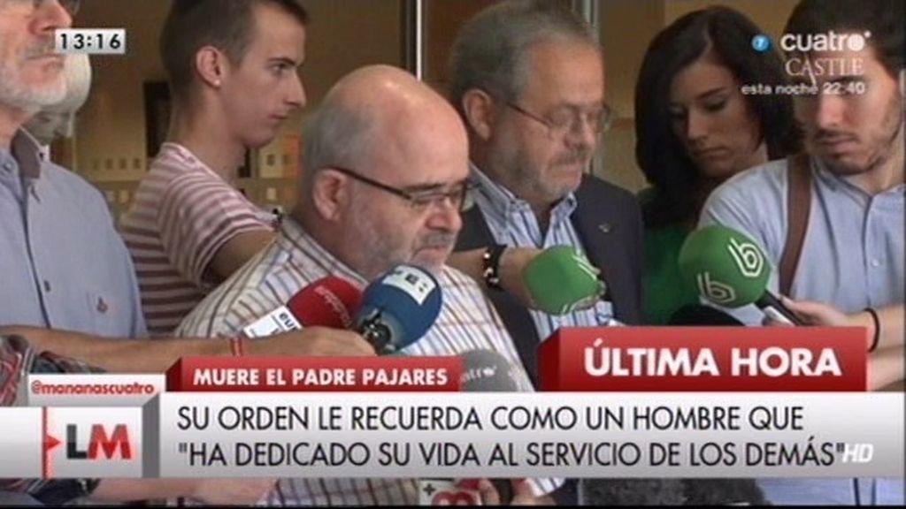 """Orden de San Juan de Dios: """"Agradecemos todas las muestras de apoyo"""""""