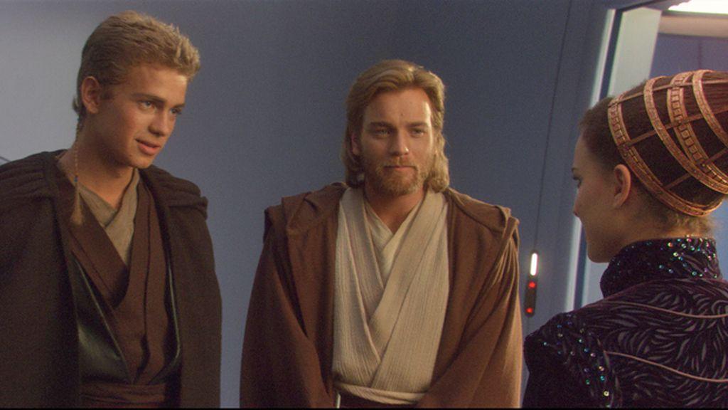 Padmé y Anakin Skywalker se enamoran en 'El ataque de los clones'