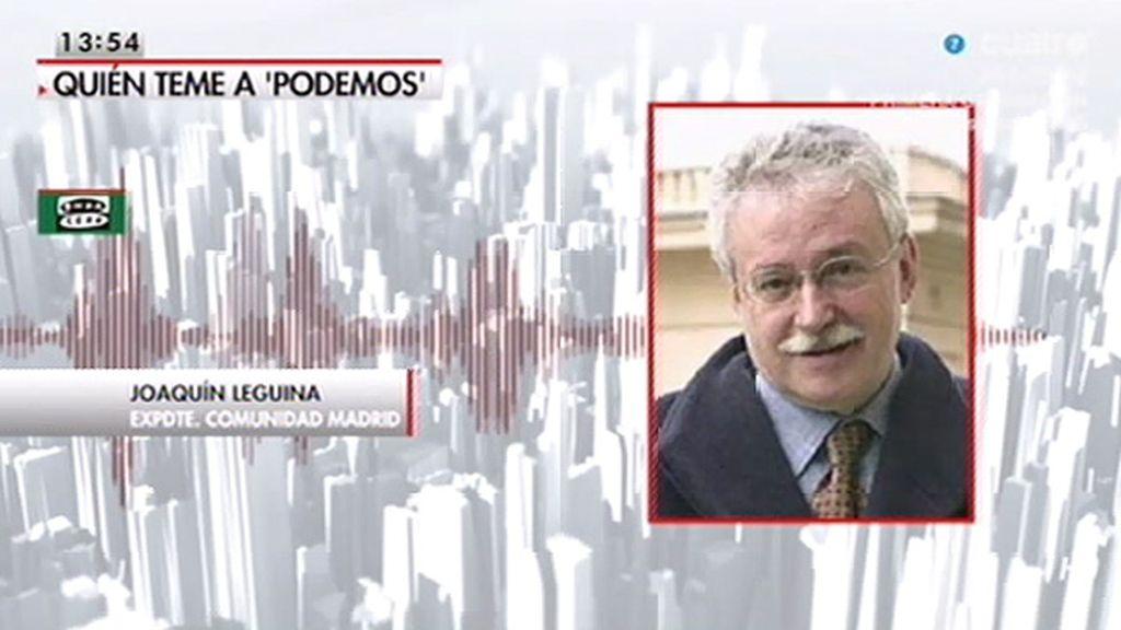 """Leguina sí dijo que P. Iglesias es """"un peligro"""""""