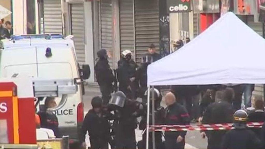 Un policía herido en Saint Denis