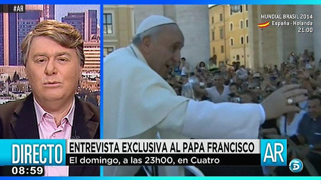 """Henrique Cymerman: """"El Papa me preguntó que que podía hacer por Oriente Medio y por la paz"""""""