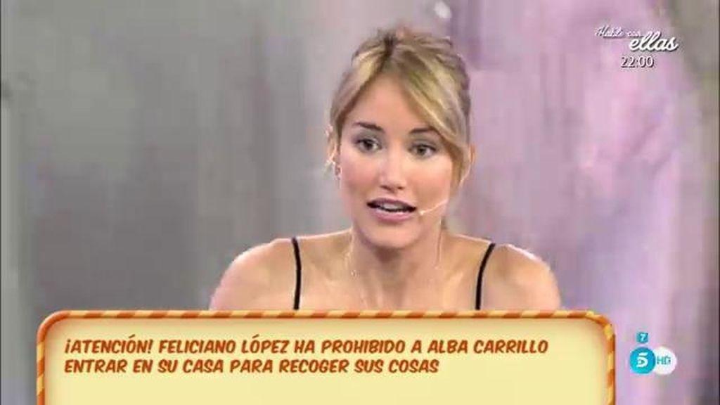 """Alba Carrillo: """"Nadie me ha prohibido la entrada en ningún sitio"""""""