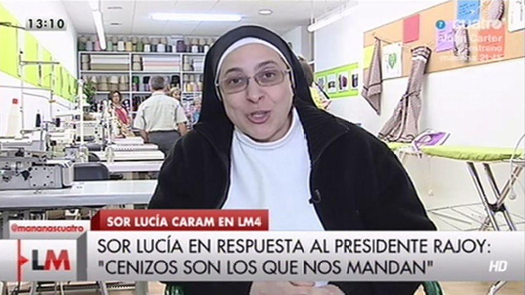 "Sor Lucía Caram: ""Creo que los cenizos son los que nos están mandando"""