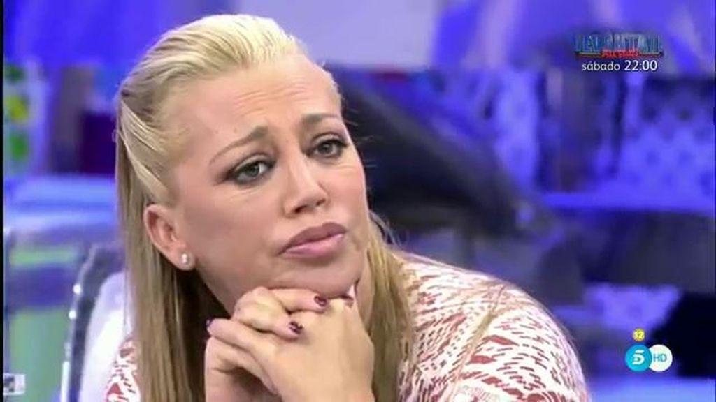 """Belén, sobre  Toño Sanchís: """"Lo tengo todo muy bien atado"""""""