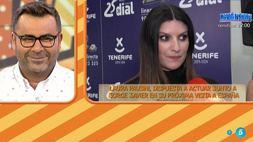 """El mensaje de Laura Pausini para J.J.: """"¿Por qué no ha cantado conmigo?"""""""