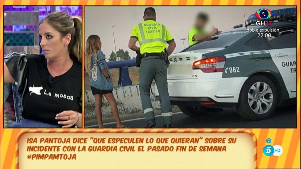 """Anabel, de Isa Pantoja tras su sanción: """"Me ha dicho que de esto va a aprender"""""""