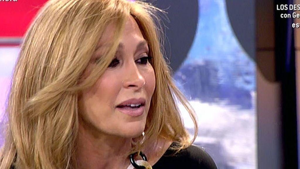 """María de Mora: """"Mi hijo lo ha dejado todo para estar conmigo"""""""