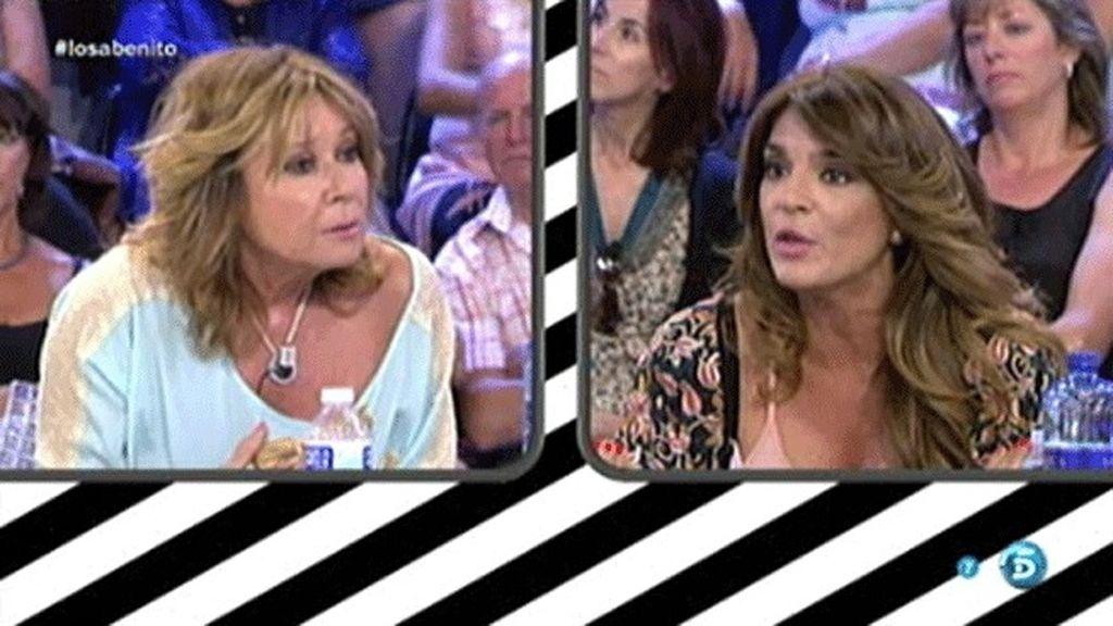 """Mila Ximénez, a Raquel Bollo: """"Si quieres encender la mecha, la encendemos"""""""