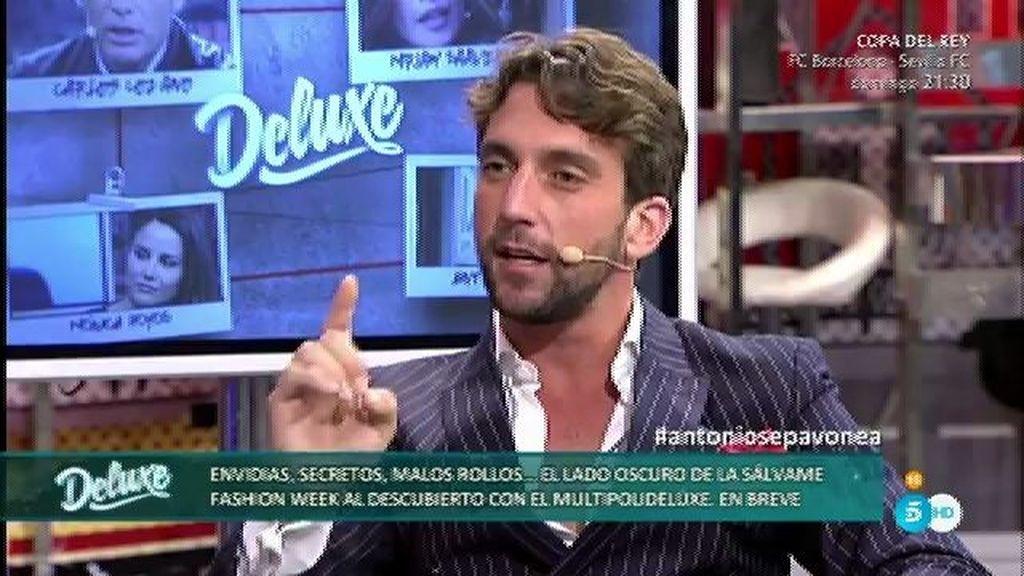 """Antonio Pavón: """"Carlos me llamó para preguntarme si era cierto lo de Miriam"""""""