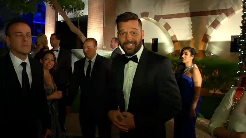 "Ricky Martin: ""Estoy feliz de estar en Dubai"""