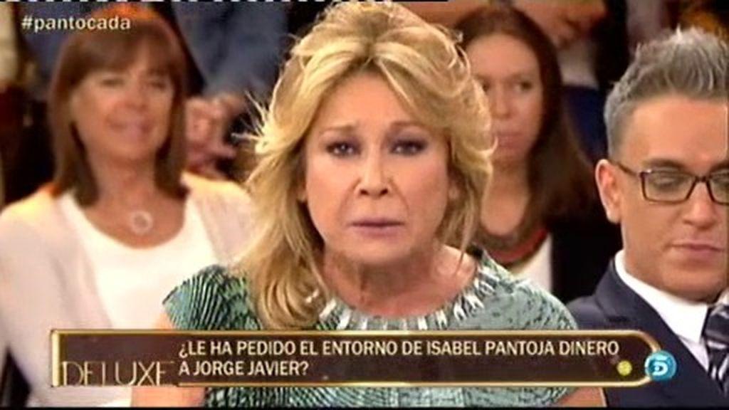 """Mila, a Isabel Pantoja: """"Tú sí tienes el dinero, lo que pasa es que no puedes decirlo"""""""