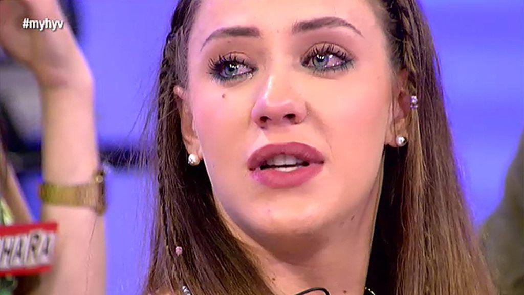 Yolanda llora al ver la cita de Isaac y Sara
