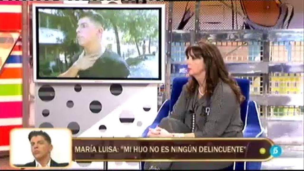 """Mª Luisa: """"No puedo justificar lo que ha hecho Rafa, pero no es un delincuente"""""""