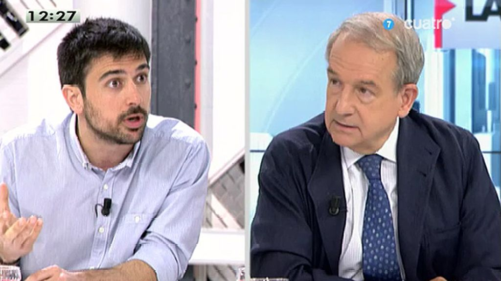 """Ramón Espinar (Juventud sin futuro): """"El resultado de la crisis es que habrá mucha gente trabajando que va a ser pobre"""""""