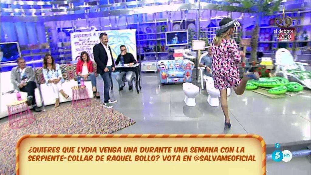 Lydia Lozano imita a Lina Morgan