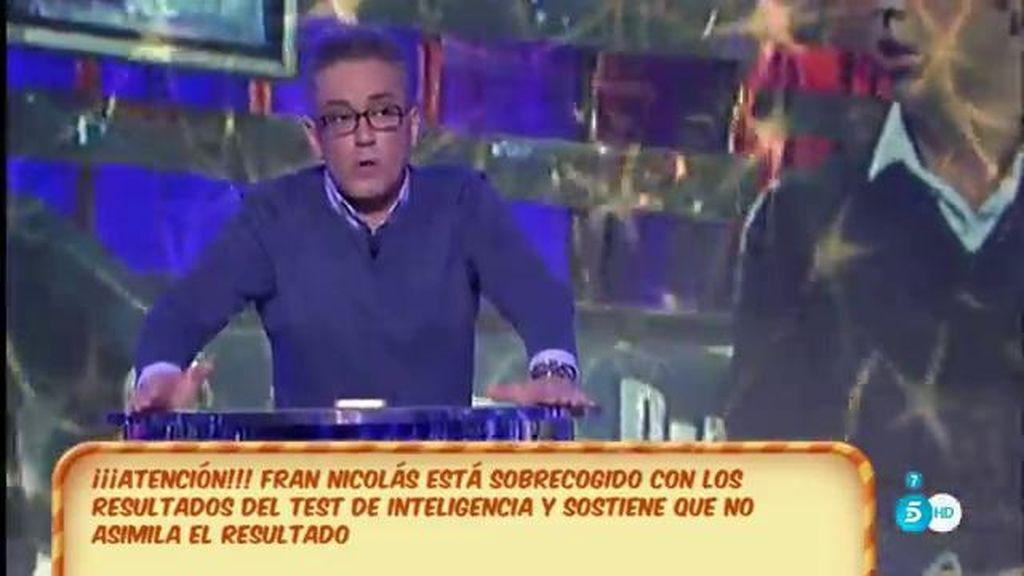 Kiko Hernández explica por qué le salió mal el test de inteligencia a Fran Nicolás