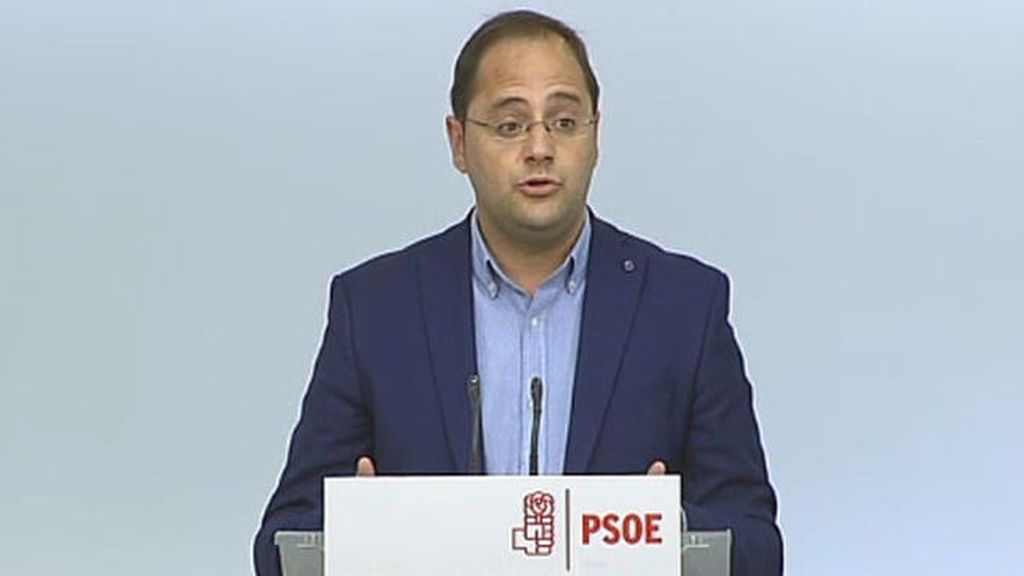 """Luena: """"Obviamente en el PSOE no estamos satisfechos con estos resultados"""""""