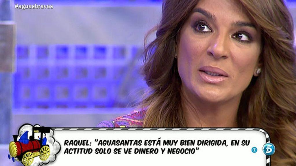 Raquel Bollo niega haberse interpuesto en la relación de Manuel y Aguasantas