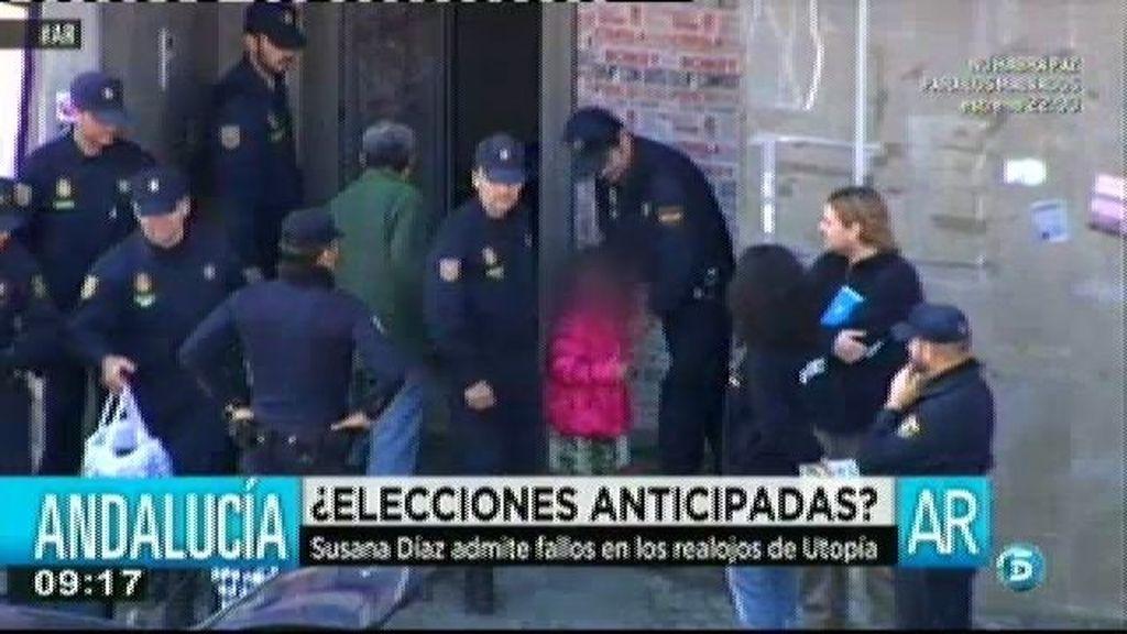 Susana Díaz niega que vaya a haber elecciones anticipadas en Andalucía