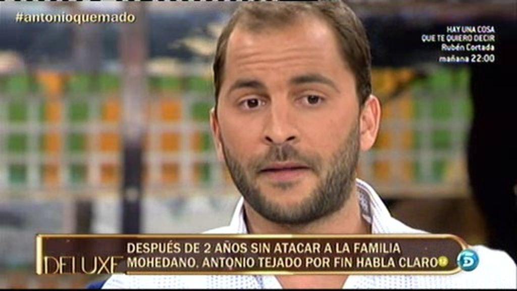 """Antonio Tejado: """"Amador ha jugado muy sucio conmigo"""""""