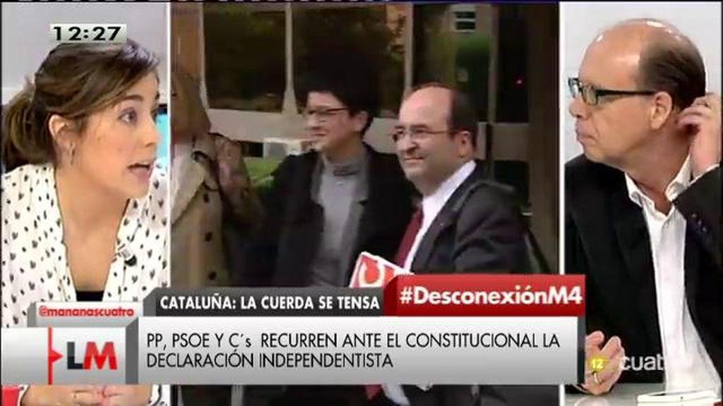 """Lara Hernández: """"No creemos en la política de bloques, hay que poner en marcha la política de diálogo"""""""