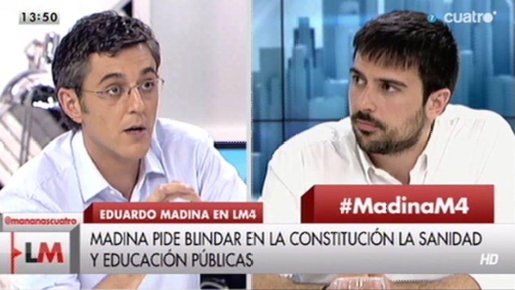 """Madina: """"Si me eligen, los diputados del PSOE votarán no a la elección de Juncker como Presidente de la Comisión Europea"""""""
