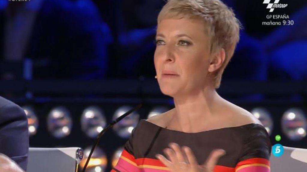"""Eva Hache, a Rafa Piccola: """"En las audiciones me gustaste más que esta noche"""""""