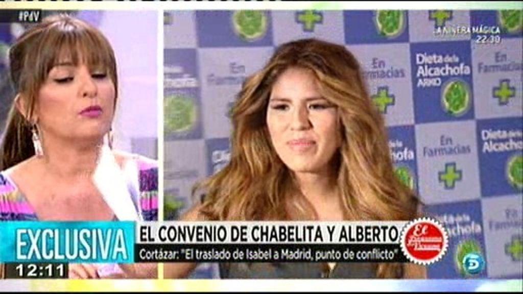 """Cortázar: """"El traslado de Chabelita a Madrid, punto de conflicto con Alberto Isla"""""""