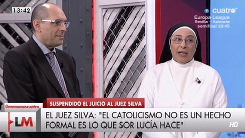 """Sor Lucía Caram, sobre Elpidio Silva: """"Yo pienso que está siendo una víctima"""""""