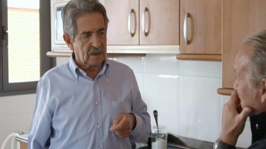 Miguel Ángel Revilla, Manuel Chaves y sus problemas de próstata en la boda real
