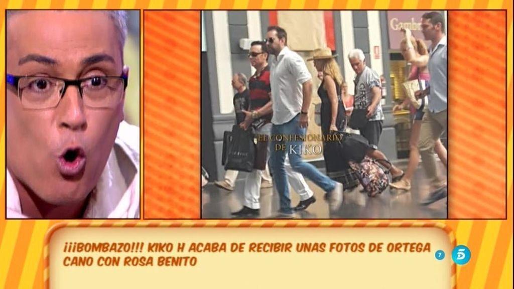 """Kiko H.: """"Rosa Benito y Ortega Cano han mantenido un encuentro en tono conciliador"""""""
