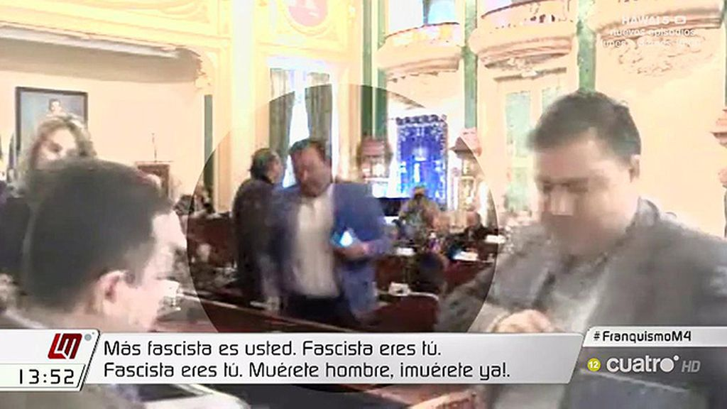 """Antonio Pozo, a Ramón Ropero: """"Más fascista eres tú. Muérete ya"""""""