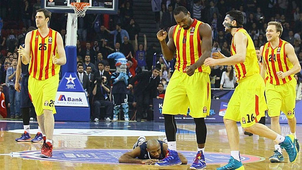 Tomic y Navarro resucitan al Barcelona en la prórroga en Estambul ante el Anadolu